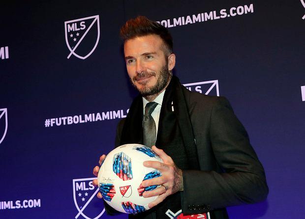 Drużyna Davida Beckhama najgorsza w historii ligi! Niechlubny rekord