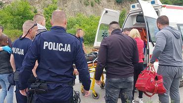 Kosowo. Zaginiony motocyklista leżał przez 5 dni w wąwozie