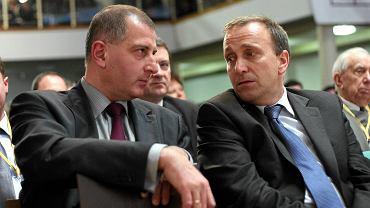 Prezydent Rafał Dutkiewicz i Grzegorz Schetyna