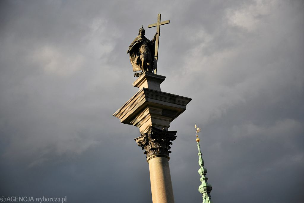 Kolumna Zygmunta na Placu Zamkowym w Warszawie