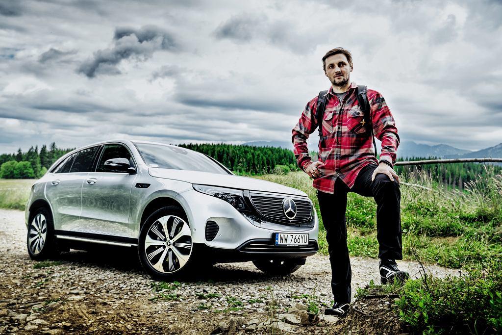 Ambasador elektrycznego Mercedesa EQC podejmuje kolejne niesamowite wyzwanie