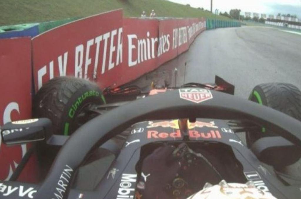 Max Verstappen rozbił bolid przed GP Węgier