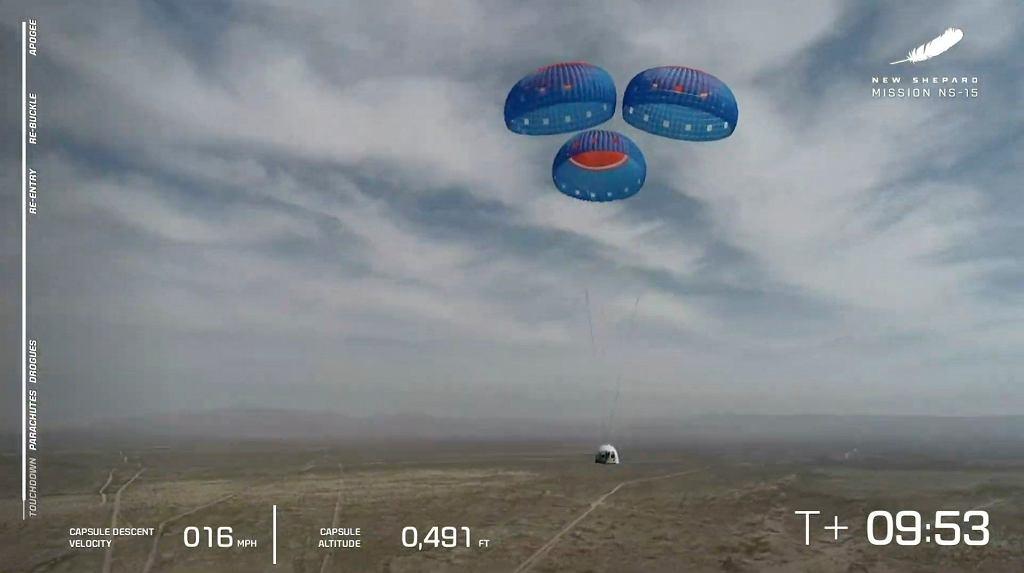 To będą minuty w kosmosie. Oto, jak będzie wyglądał pierwszy lot Blue Origin