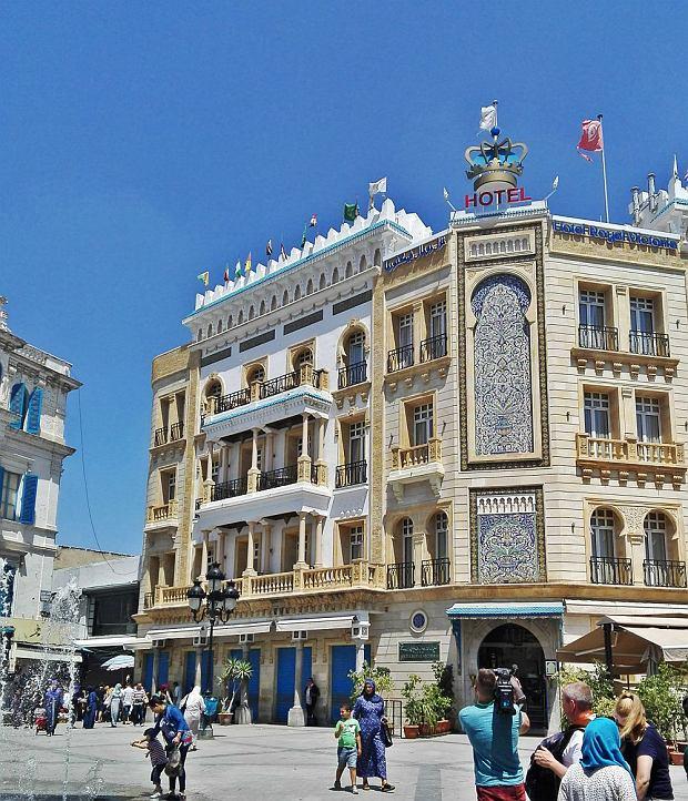 Tunis w Tunezji