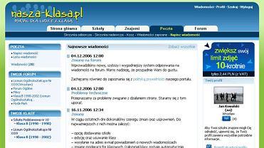 Portal nasza-klasa.pl