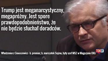 Włodzimierz Cimoszewicz w TOK FM