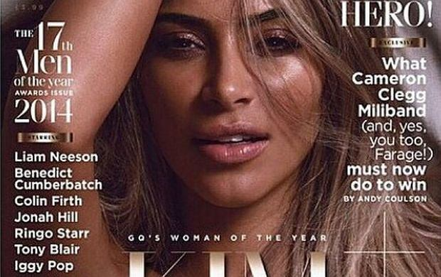 Kim Kardashian dla GQ