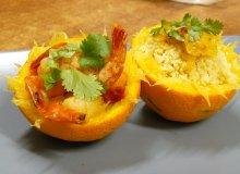 Krewetki pomarańczowe z kuskusem - ugotuj
