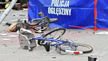 Wypadek w Warszawie (fot. Dariusz Borowicz / Agencja Gazeta)