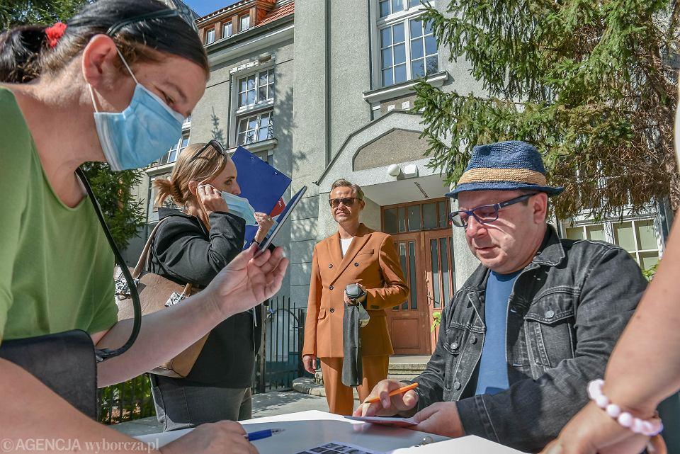 2020 r., Spotkanie ze Zbigniewem Zamachowskim w ramach Kozzi Film Festiwalu