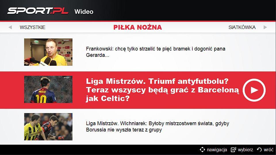 Sport.pl Wideo na platformie Samsung Smart TV