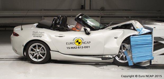 Mazda MX-5 - test zderzeniowy