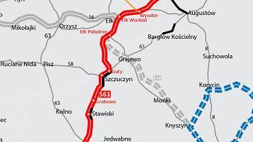 S61 Wysokie - Raczki, Via Baltica