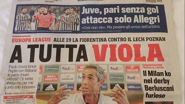 Włoska prasa przed meczem Fiorentina-Lech
