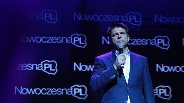 Kongres założycielski NowoczesnaPL w Warszawie, Na zdj. Ryszard Petru