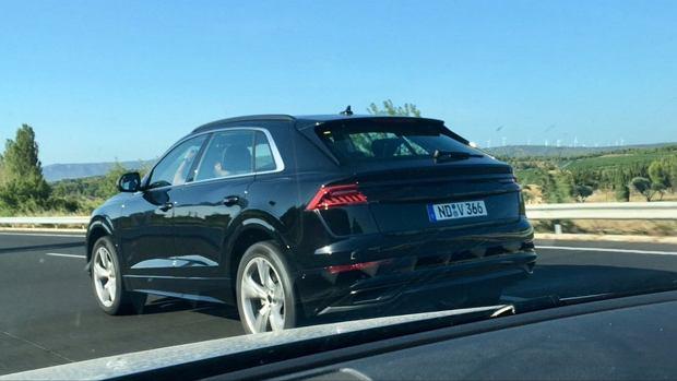 Prototyp Audi Q8 bez kamuflażu