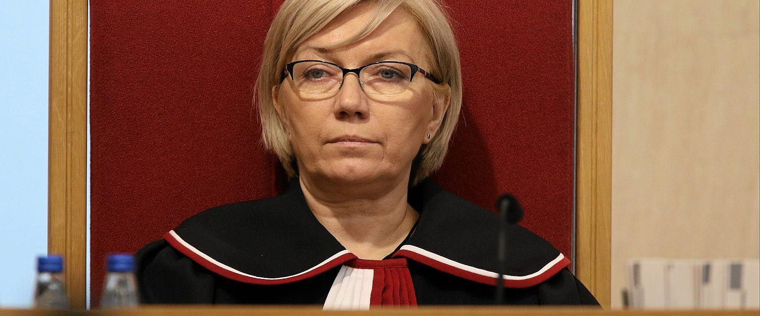 Wybrana przez PiS prezes Trybunału Konstytucyjnego Julia Przyłębska (fot. Sławomir Kamiński/AG)