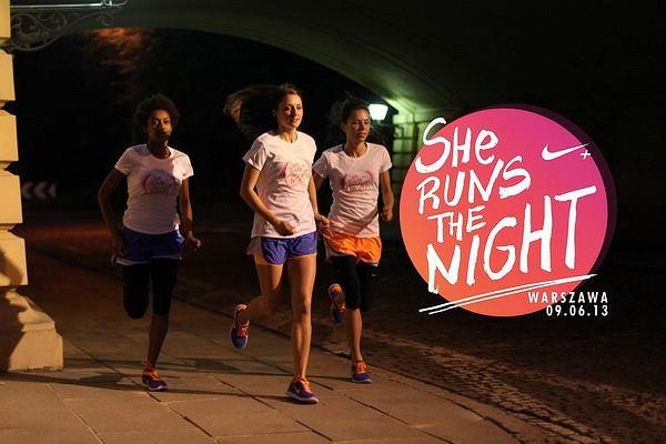 She Runs The Night - bieg tylko dla kobiet 9 czerwca