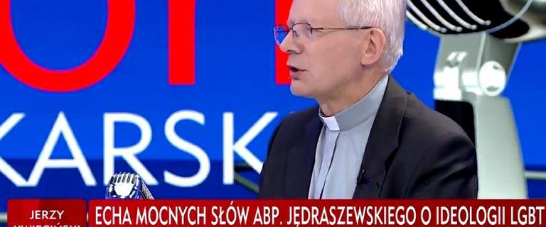 Ks. Zieliński o słowach Gowina: Brzmią jak pułapka położona przed rządem