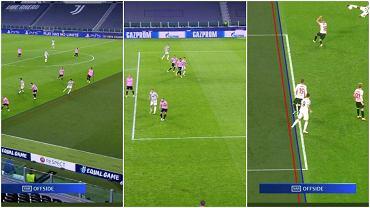 Trzy nieuznane bramki Alvaro Moraty w meczu Juventus - Barcelona