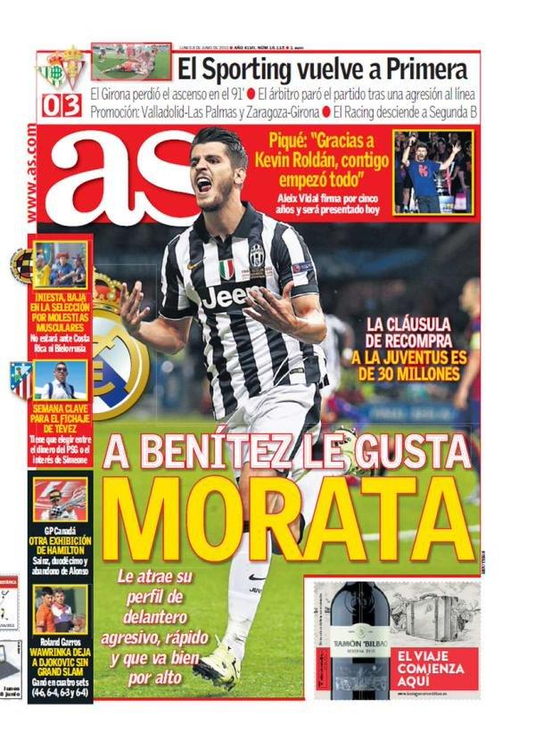 Alvaro Morata w Realu?