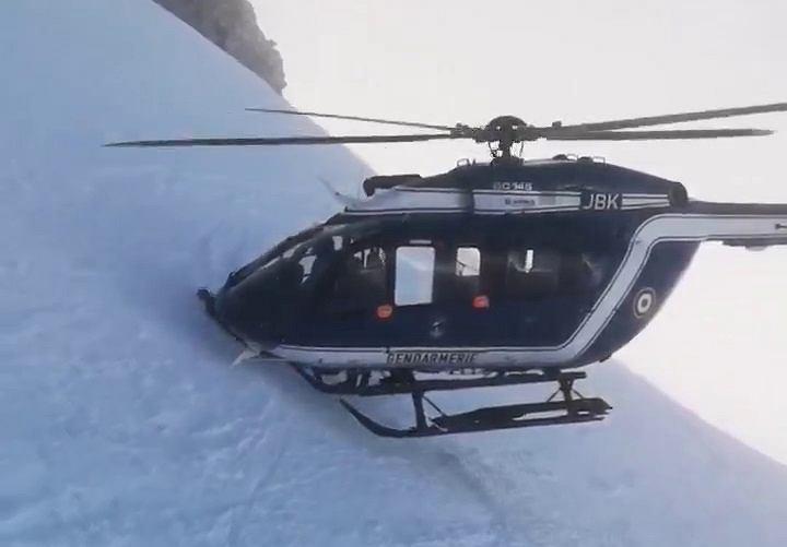 Spektakularny ratunek w Alpach