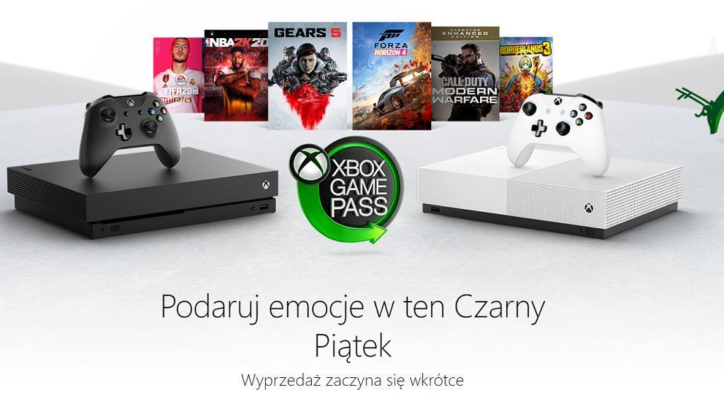Xbox Czarny Piątek