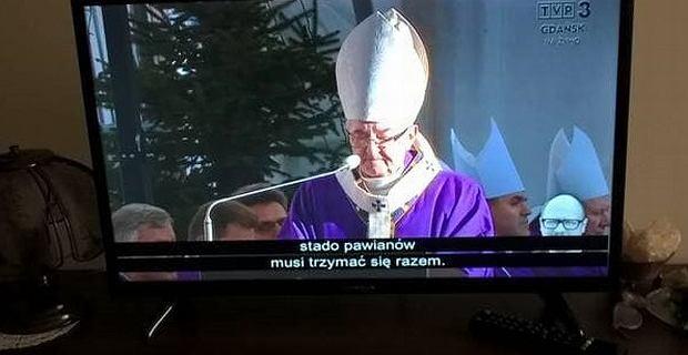 Wpadka TVP3 podczas transmisji pogrzebu Pawła Adamowicza