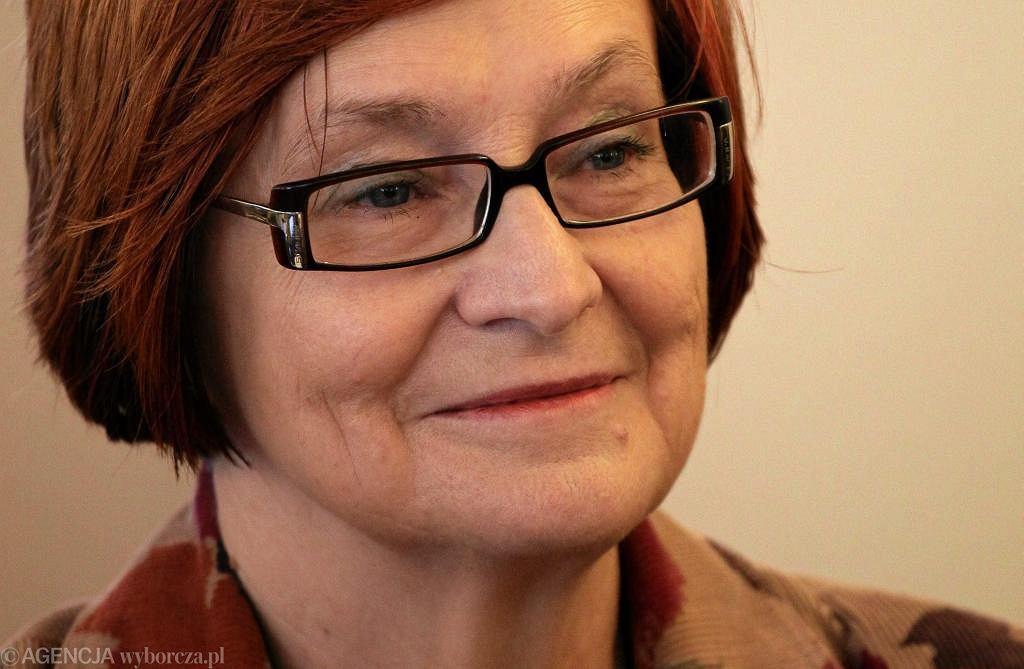 Prof, Małgorzata Fuszara: Dla uczniów byłoby korzystne, gdyby proporcje między liczbą nauczycielek i nauczycieli w szkołach się wyrównały