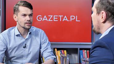Prezes AGROunii Michał Kołodziejczak