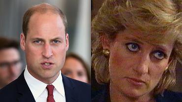 książę William, księżna Diana