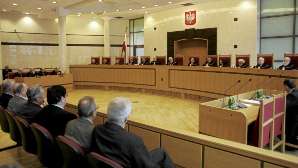 Rozprawa w Trybunale Konstytucyjnym z udziałem Ewy Łętowskiej (fot. Wojciech Olkuśnik/AG)