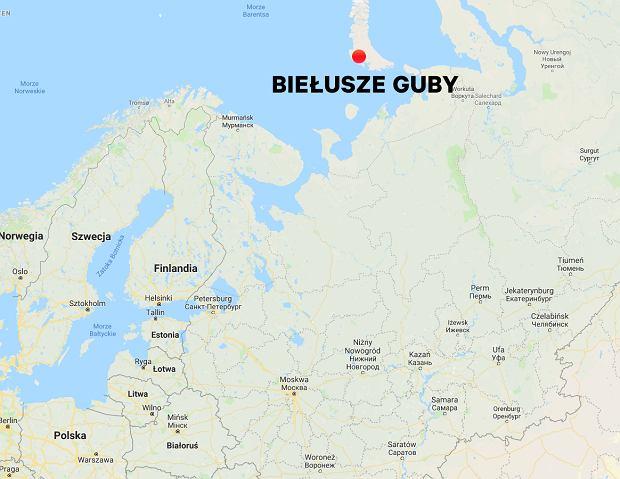 Biełusze Guby Rosja