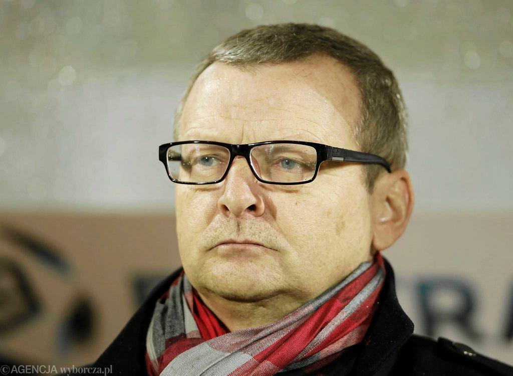 Trener Termaliki Piotr Mandrysz
