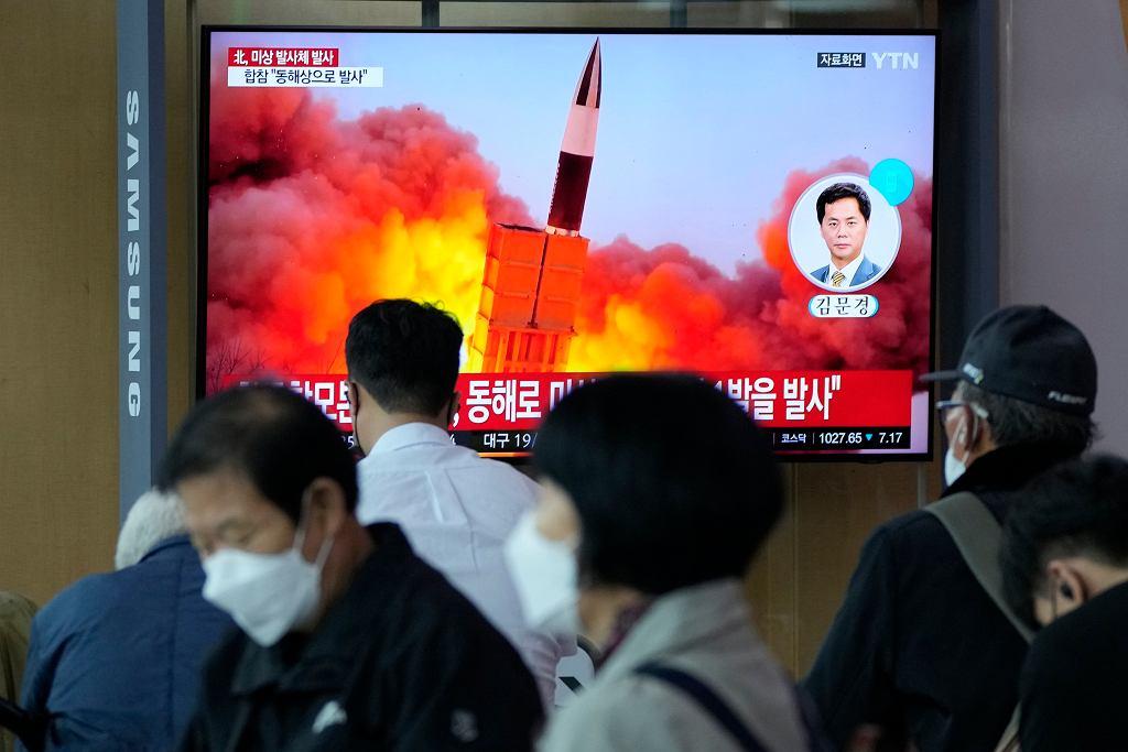 Reżim Kim Dzong Una testuje rakietę