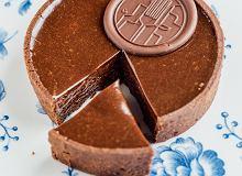 Tarta z musem czekoladowo-lukrecjowym - ugotuj