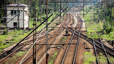 Trakcja kolejowa.
