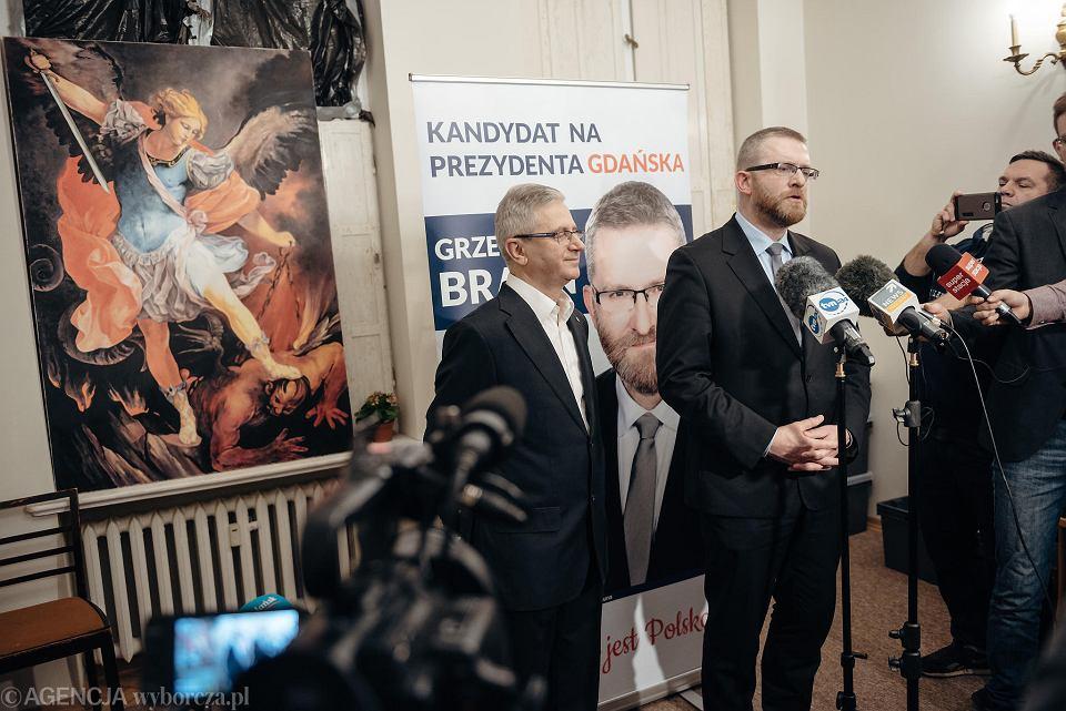 Sztab wyborczy Grzegorza Brauna
