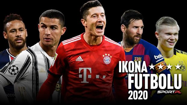 Świat wybrał Ikonę Futbolu 2020! Lewandowski i długo nic. Zaskoczenia na podium
