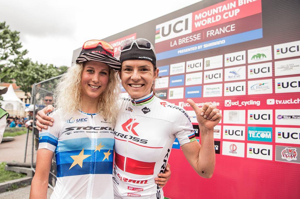 Joland Neff i Maja Włoszczowska