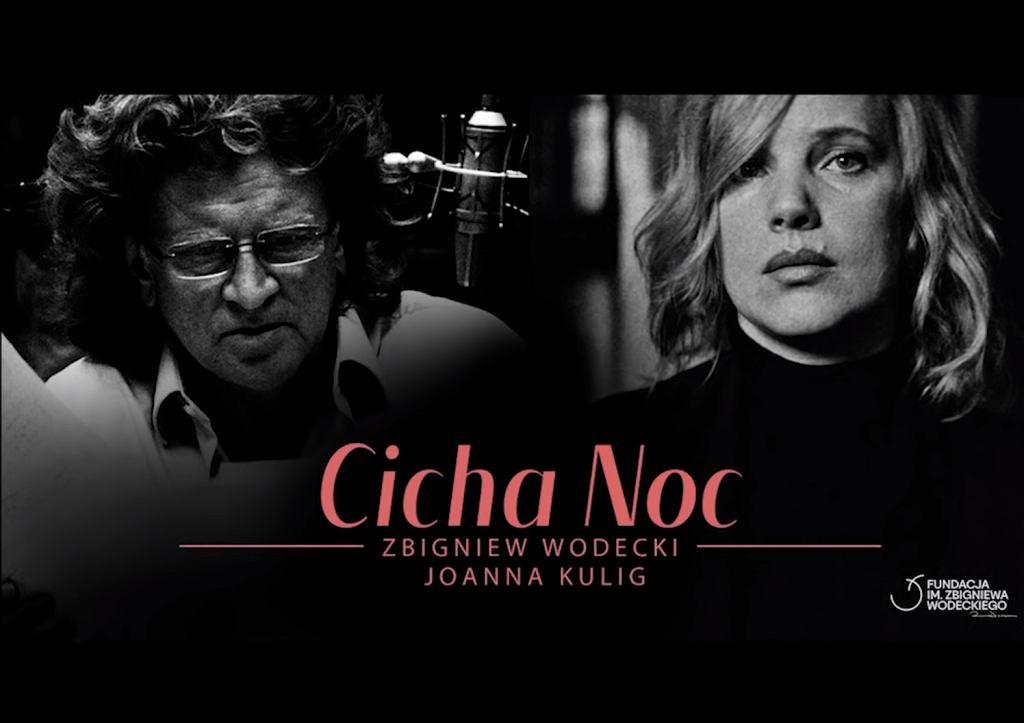 Joanna Kulig i Zbigniew Wodecki zaśpiewali 'Cichą noc'