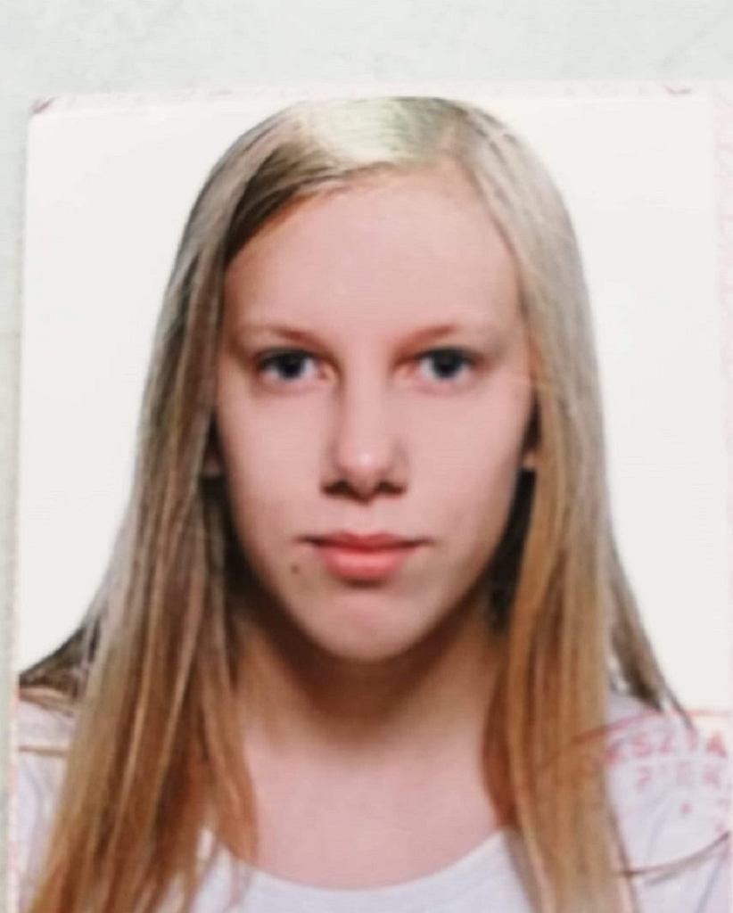 Zaginiona Aleksandra Gładysiak poszukiwana przez policję we Włocławku