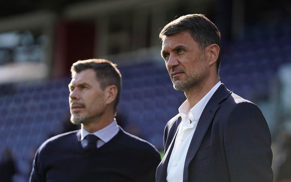 Paolo Maldini (z prawej)