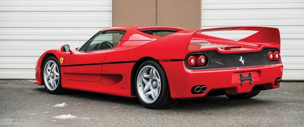 Mike Tyson sprzedaje Ferrari F50