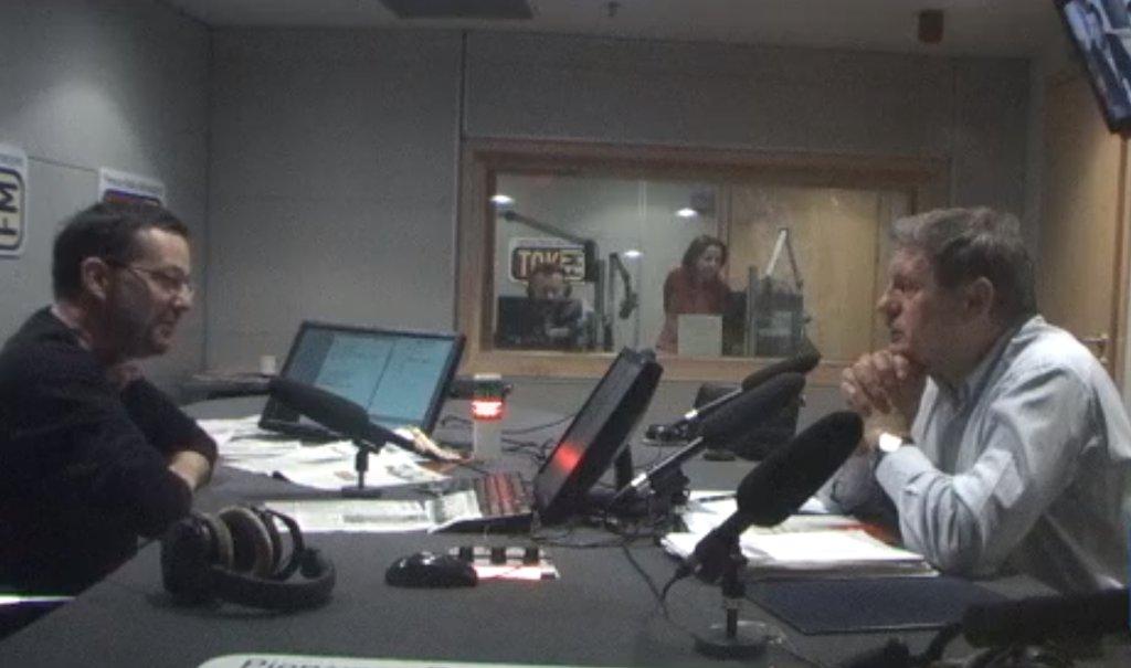 Jan Wróbel i Leszek Balcerowicz w Poranku Radia TOK FM