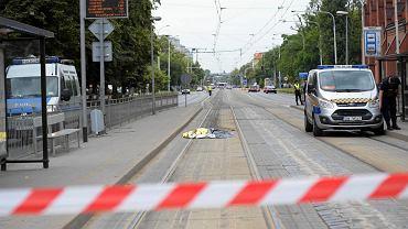 Tragiczny wypadek na ulicy Grabiszyńskiej. Nie żyje potrącona kobieta
