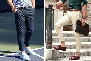 Stylowe chinosy, czyli eleganckie i funkcjonalne spodnie idealne na lato