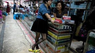 Miasto Liushi, znane ze sprzedaży podrobionych produktów elektronicznych