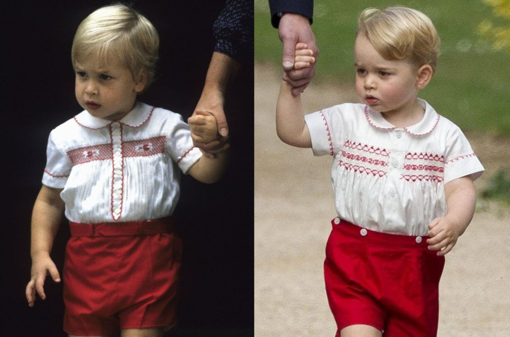 Książę William w 1984 roku i książę William w 2015 roku