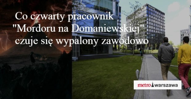 Mordor na Domaniewskiej